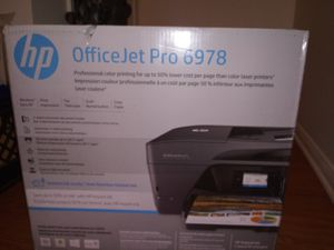 Hp office jet. All N One printer for Sale in Riverside, CA