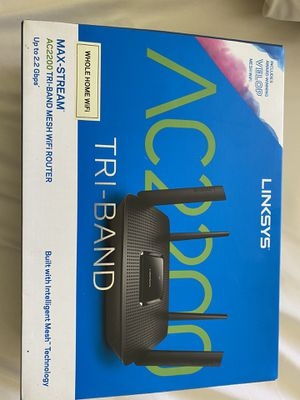 Linksys AC200 Tri-Band Mesh WiFi Router for Sale in Trinity, FL