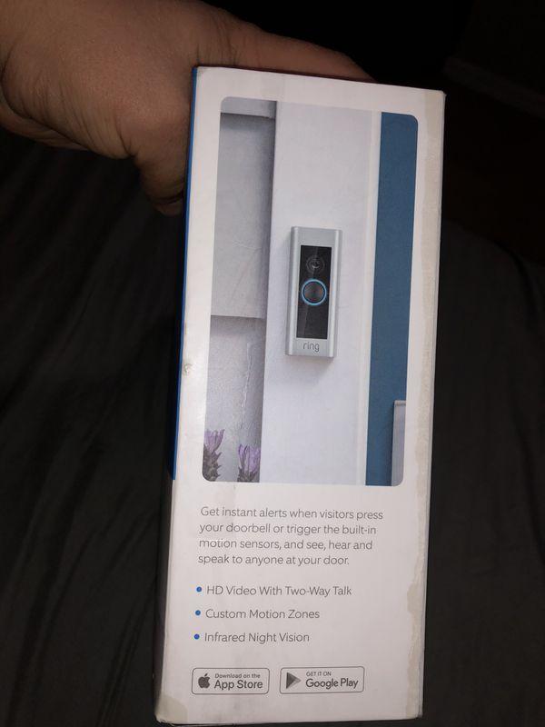 Ring video door bell pro $100 obo
