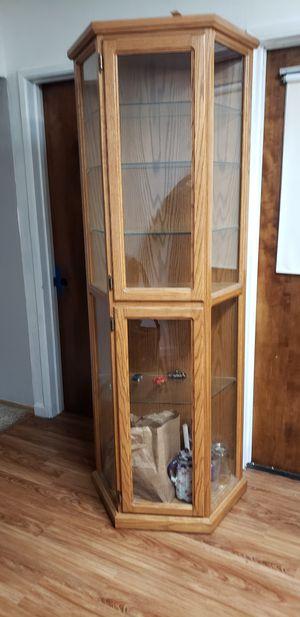 Oak cabinet for Sale in Fresno, CA