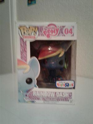 My Little Pony Rainbow Dash Toys R Us Exclusive Sparkle Pop Figure for Sale in San Antonio, TX