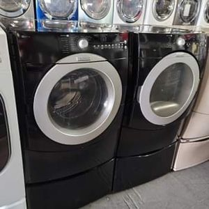 Maytag Black Front Load Washer And Dryer Set * Financing Available for Sale in Los Angeles, CA