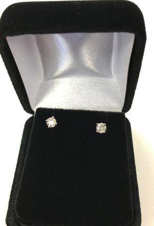 Gold diamond stud earrings for Sale in Denver, CO