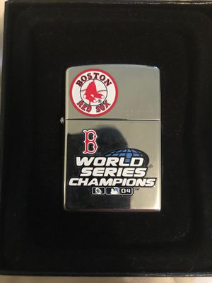2004 Boston Red Sox Zippo for Sale in Clifton Heights, PA