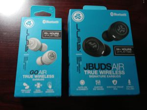 (Lot of 2) JBUDS GOAIR True Wireless & JBUDS AIR True Wireless Earbuds, New in Box for Sale in NEW PRT RCHY, FL