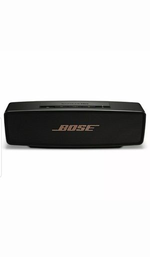 Bose SoundLink Mini Bluetooth Portable Speaker System - Black for Sale in Federal Way, WA