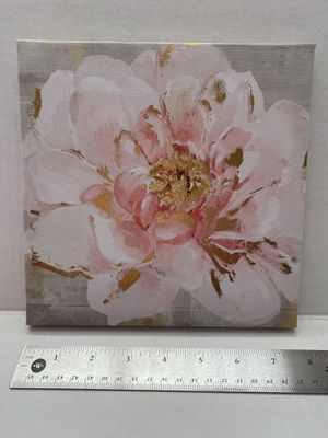 Flower canvas wall art decor 2 of 2 for Sale in McDonald, PA