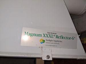 Sunlight supply reflector for Sale in North Providence, RI