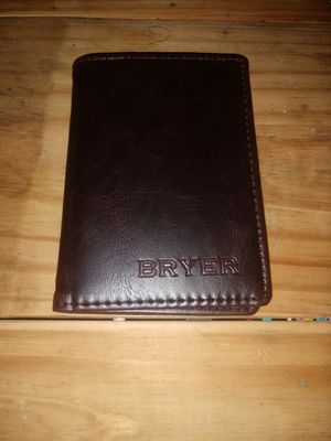 Bryer Brand Slim Wallet for Sale in Silver Spring, MD