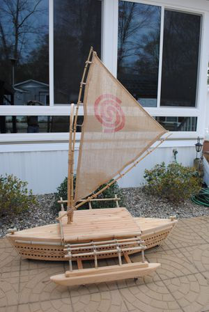 Moana boat- handmade replica— SEE DESCRIPTION & ALL PICS for Sale in Millsboro, DE