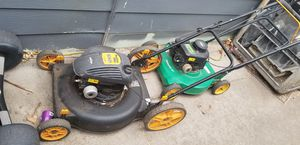 Lawn mowers both together for Sale in Lakewood, CO