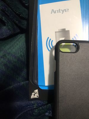 Iphone 6/7/8 wireless charging case for Sale in North Charleston, SC