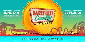 Barefoot country music festival for Sale in Levittown, PA