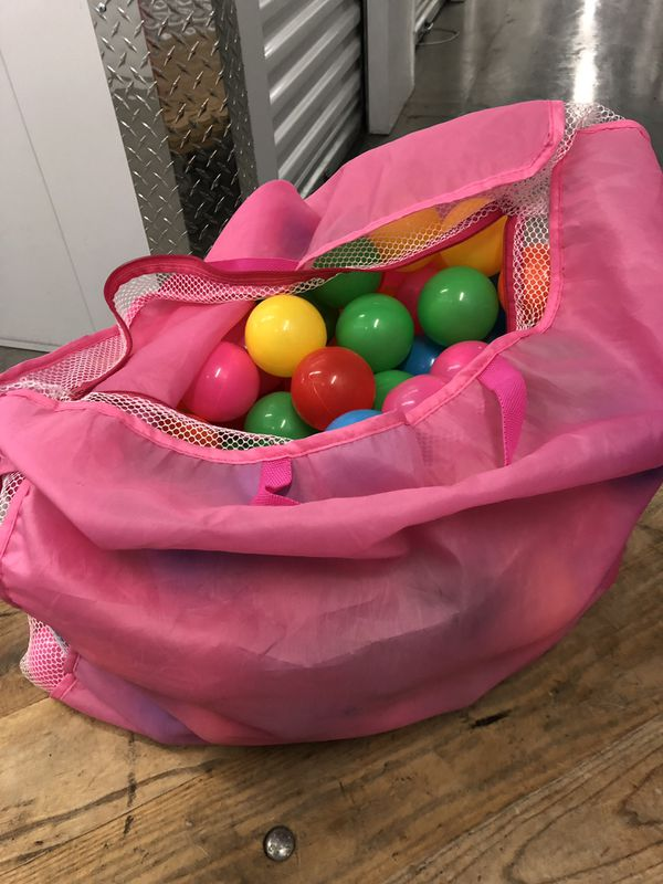 BAG OF BALLS!!!!! Kids toys silly...