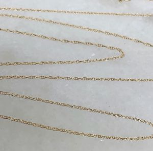 10k stamped pure solid gold necklace chain for Sale in Tualatin, OR