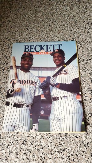 1991 Beckett Baseball Card Monthly Issue #77 for Sale in Orangevale, CA