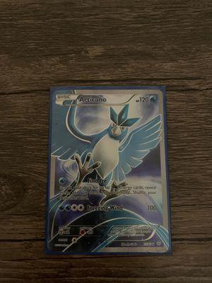 full art articuno pokemon card for Sale in Tempe, AZ