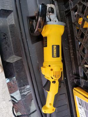 dewalt d28115 small angle grinder for Sale in Detroit, MI