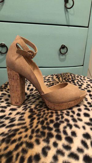 Brand new 4 Inch heels - cork - super comfortable for Sale in Silverado, CA