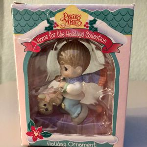 1995 Home For The Holidays Collection Precious Moments Ornament Boy on Horse for Sale in Corona, CA