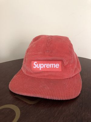 corduroy supreme hat with leather strap for Sale in Arlington, VA