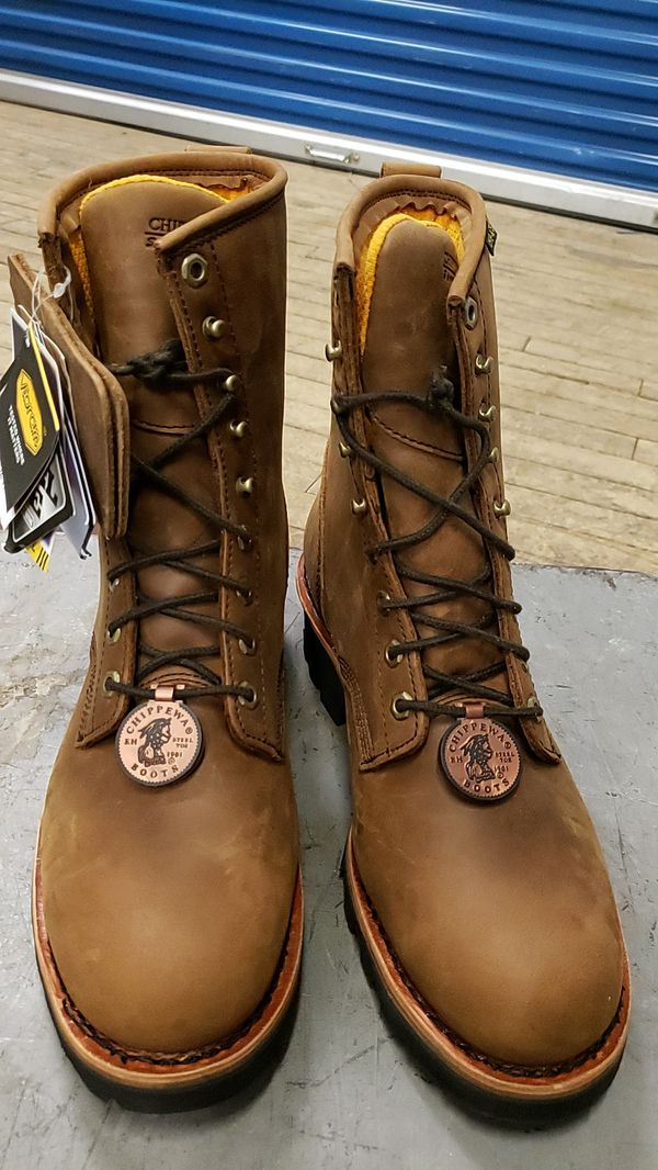Brand new Hippewa boots for men water proof size 10W