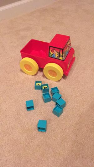 Toy Truck with Numbered Blocks for Sale in Lovettsville, VA