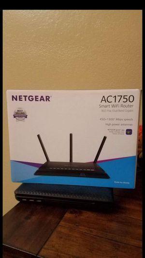 Net Gear AC1750 smart wifi router for Sale in Compton, CA