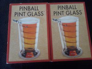 2 New Pinball Pint Glasses for Sale in El Cajon, CA