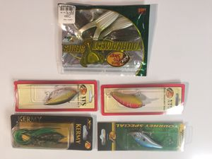 New fishing lures and plastic frogs #1 package for Sale in Washington, DC