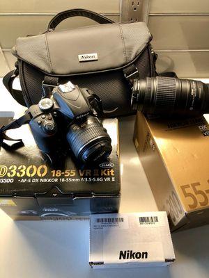 Nikon D3300 18-55mm VR II Kit (Open Box) for Sale in Seattle, WA