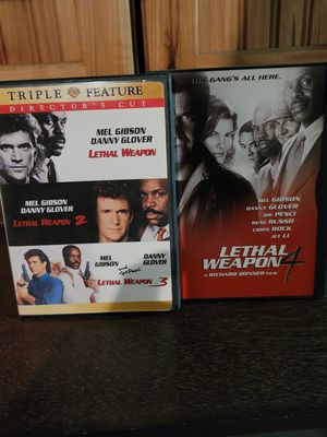 Lethal weapon DVD movie collection for Sale in March Air Reserve Base, CA