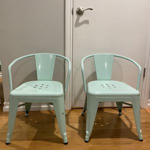 Kids Industrial Activity Chairs In Mint By Pillowfort for Sale in Seal Beach, CA