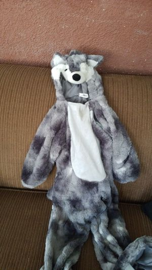 Child Wolf costume $18 size 18 to 24 mo for Sale in City of Industry, CA