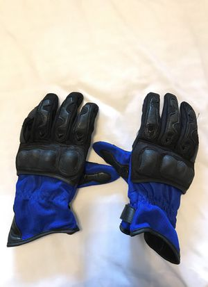 First gear motorcycle gloves - size Large for Sale in Coppell, TX