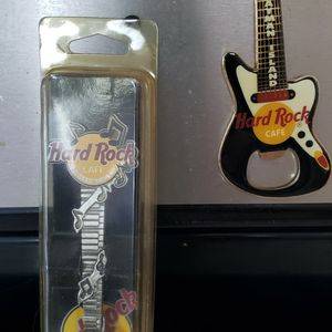 Hard Rock Cafe Lot 2 Pins 1 Magnet 1 Spoon for Sale in Chicago, IL