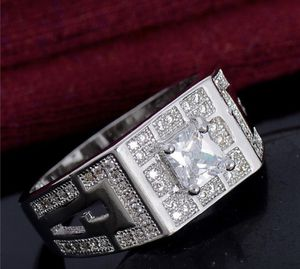 Men's 925 starling silver diamond wadding engagement rings sizes 9/11/12 for Sale in Riverside, CA