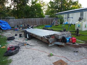 Camper fram turned into car hauler for Sale in Porter, TX