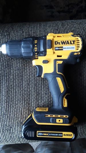 DeWALT 20v max drill and battery. 2 speed for Sale in Modesto, CA