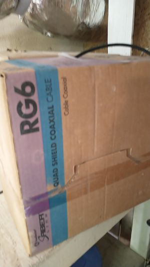 Rg6 cable 2 partial 500 ft boxes a for Sale in Durham, NC