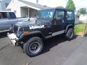 88 Jeep Wrangler no rust all original no trades 4x4 fires right up for Sale in Levittown, PA