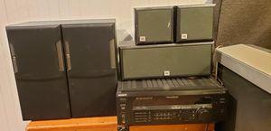 JBL 5 Speaker Surround sound Sony Receiver/Amplifier for Sale in Woodridge, IL