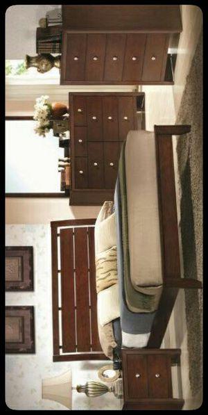 🆕SET🆕 Evan Cherry Panel Bedroom Set for Sale in Mount Rainier, MD