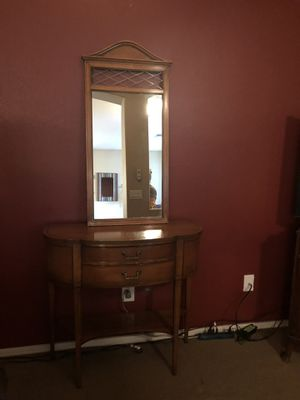 Mirror and entry way table for Sale in Glendale, AZ