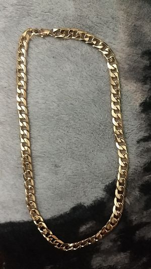 Gold Plated Chain 20inch for Sale in Chula Vista, CA