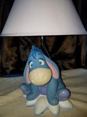 Eeyore lamp light for Sale in Nashville, TN