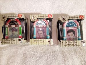 Elvis musical ornaments. for Sale in Alta Loma, CA