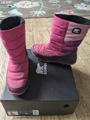 Sorel boots girls size 3 for Sale in Palo Alto, CA