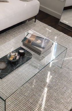 Clear Glass Coffee Table for Sale in Seattle,  WA