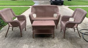 Fauc wicker outdoor furniture for Sale in Lake Worth, FL